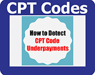 bestPTbilling software can detect CPT Code Underpayments