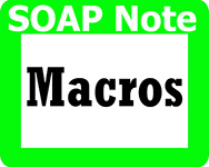 bestPTbilling.com uses SOAP note macros