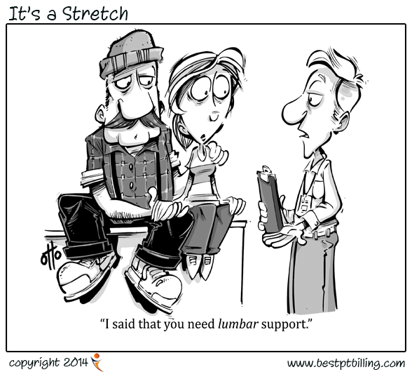 Physical Therapy Cartoons are becoming relatively amusing.