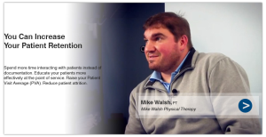 Physical Therapy Software is used by Mike Walsh, PT.