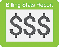 physical therapy billing stats report