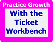 Grow your practice with the ticket workbench