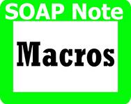 bestPTbilling.com uses SOAP note macros