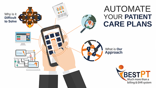 automated care plans for physical therapists